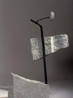 No 136 Histoire mystérieuse / Mysterious Story (1996). Photo Dolores Breau. h = 93,5 cm